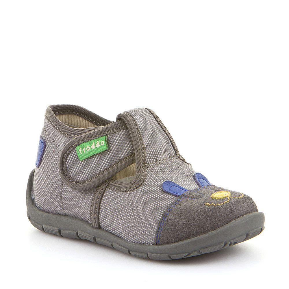 Personalizirane papuče u sivoj boji za dječake picture
