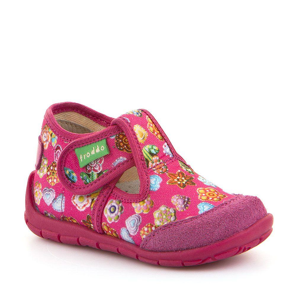 Personalizirane papuče za djevojčice sa cvjetnim uzorkom picture
