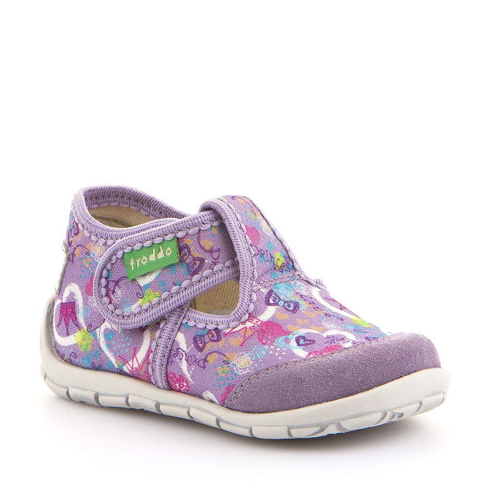 Personalizirane papuče za djevojčice u lila boji picture