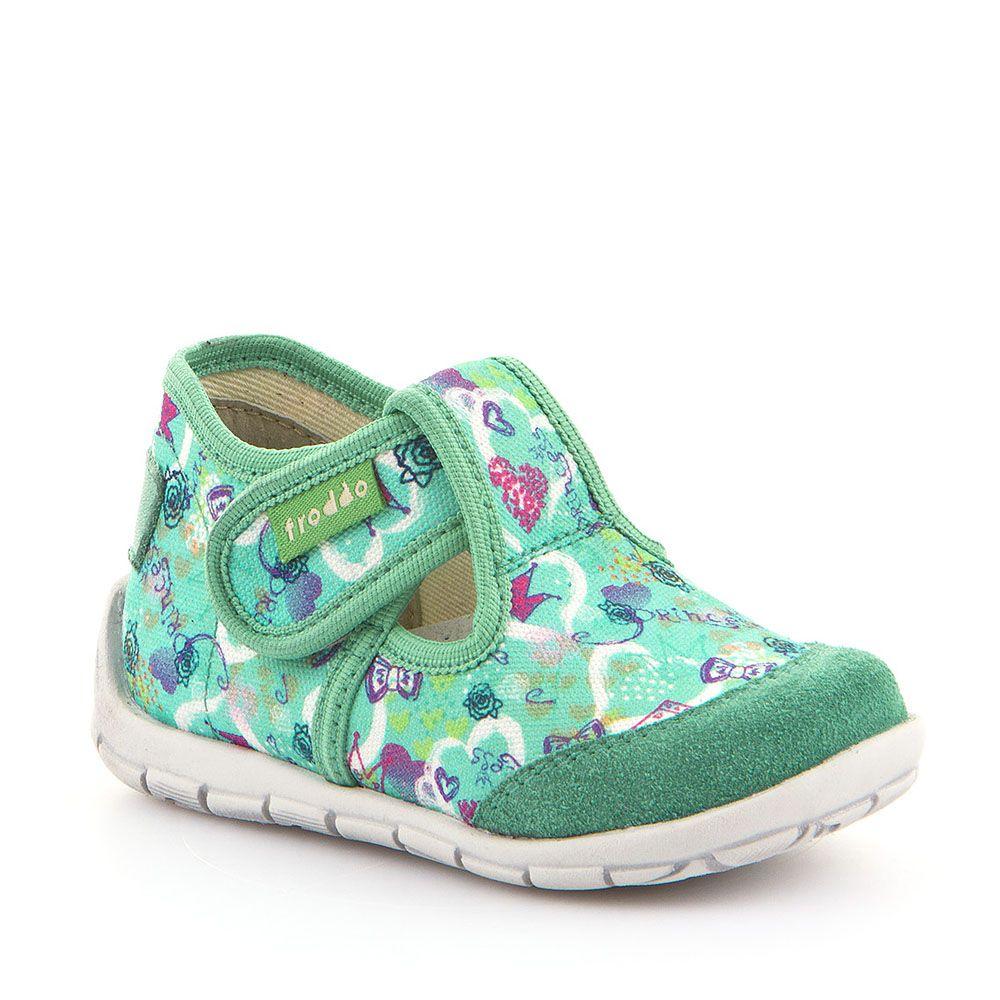 Personalizirane papuče za djevojčice u tirkiznoj boji picture
