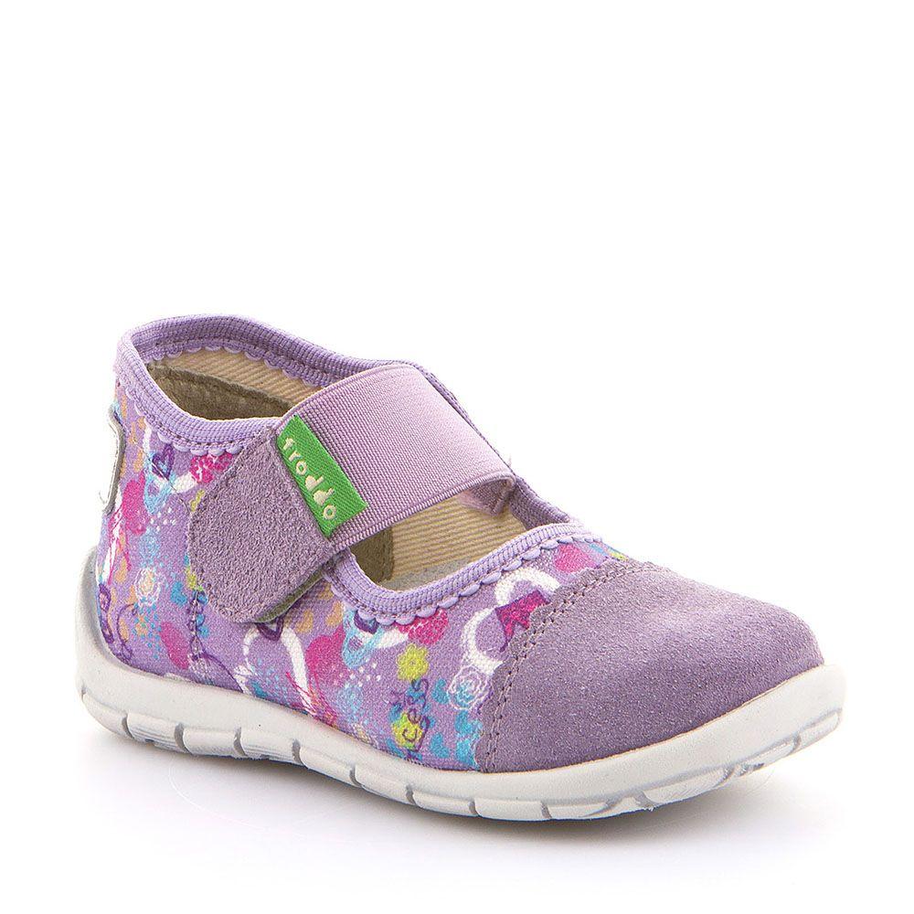 Personalizirane papuče za djevojčice u lila boji s uzorkom picture