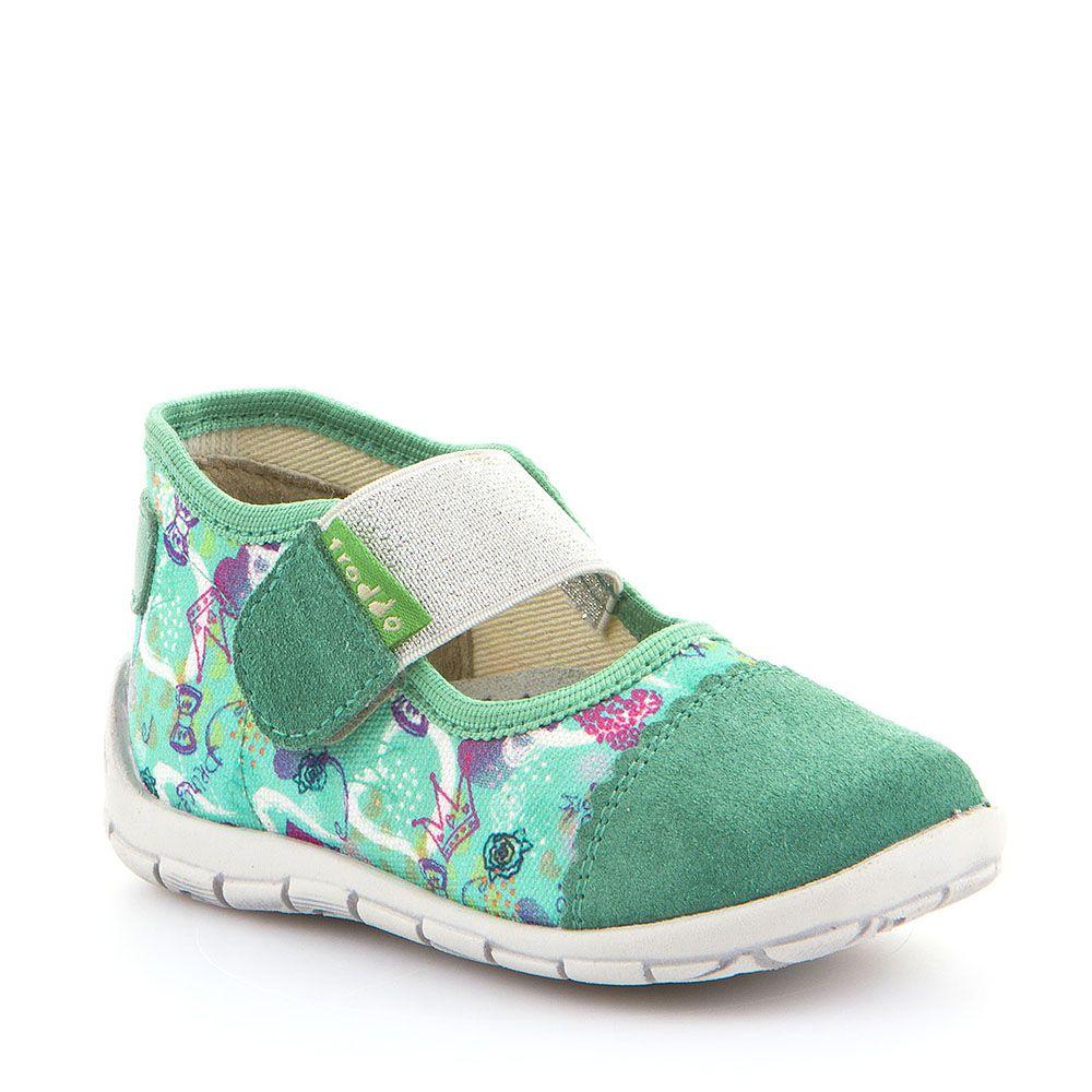 Personalizirane balerinke papuče za djevojčice u tirkiznoj boji picture