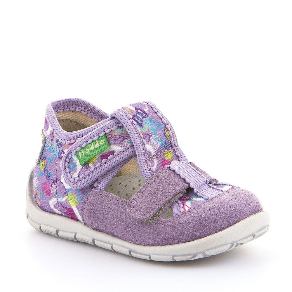Lila personalizirane papuče za djevojčice s dva čička picture
