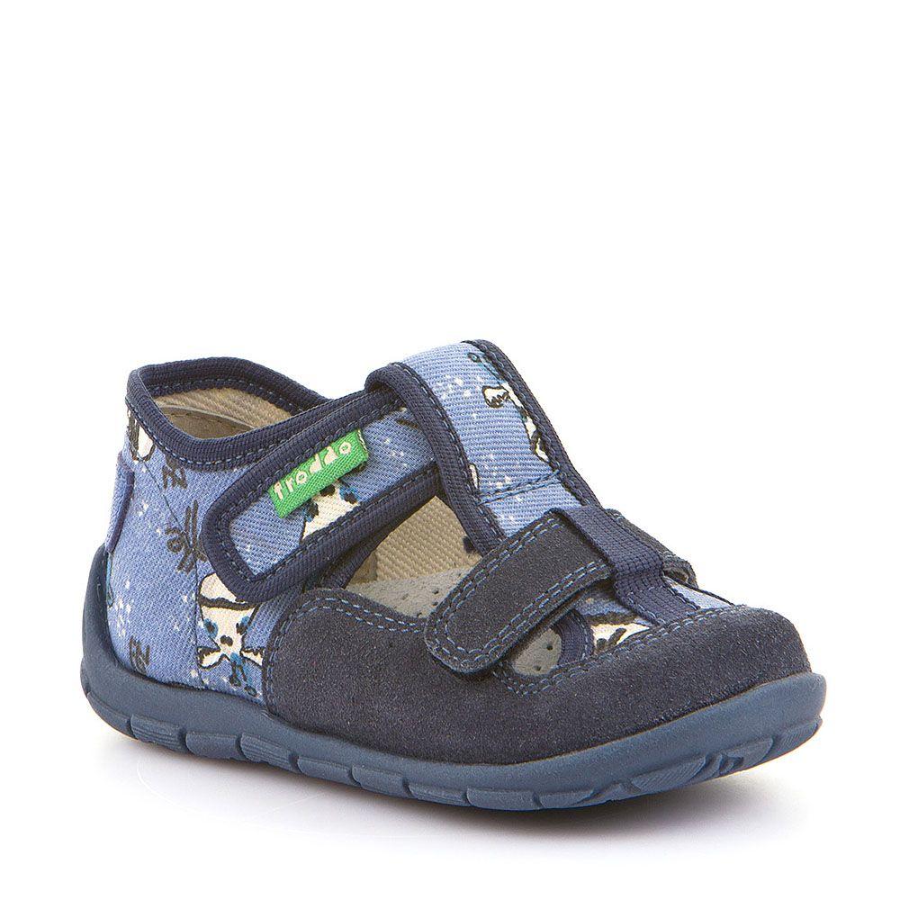Plave personalizirane papuče za dječake dva čička picture