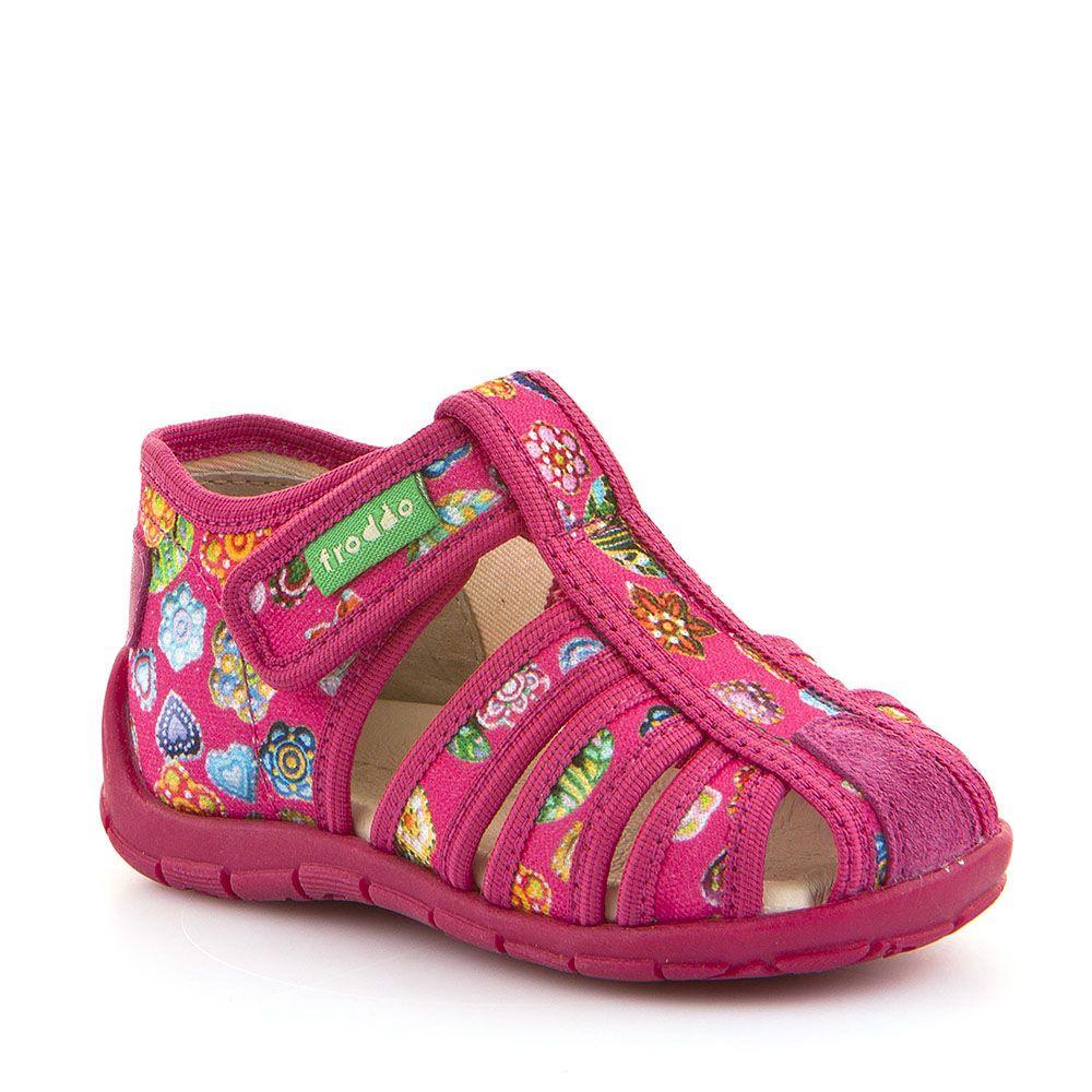 Otvorene personalizirane papuče za djevojčice u rozoj boji picture