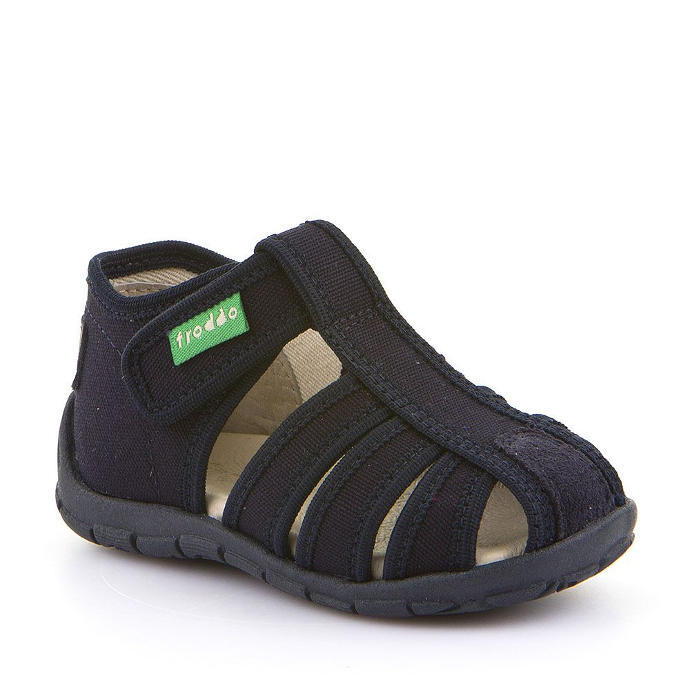 Otvorene personalizirane papuče za dječake u tamno plavoj boji picture