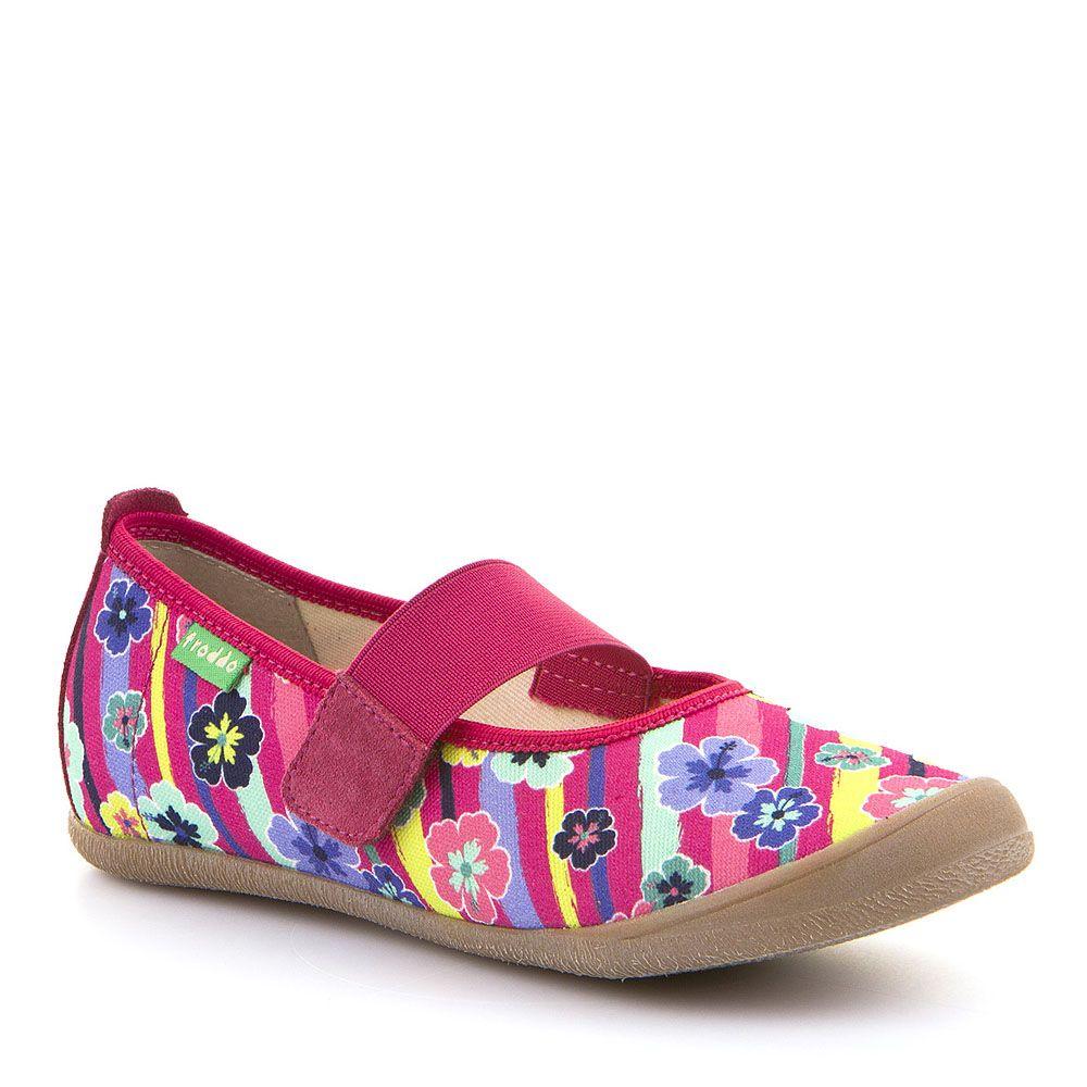 Šarene papuče za djevojčice s elastičnom trakom picture