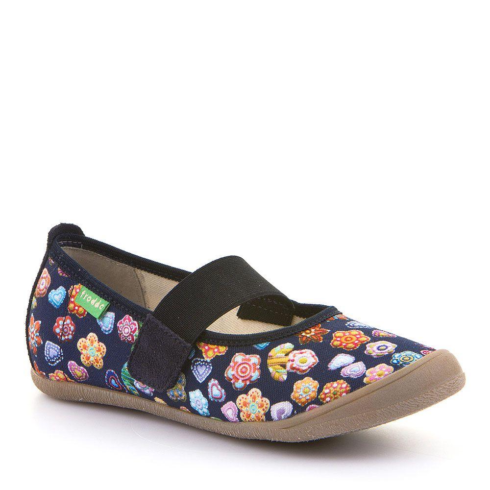 Cvjetne papuče za djevojčice s elastičnom trakom picture