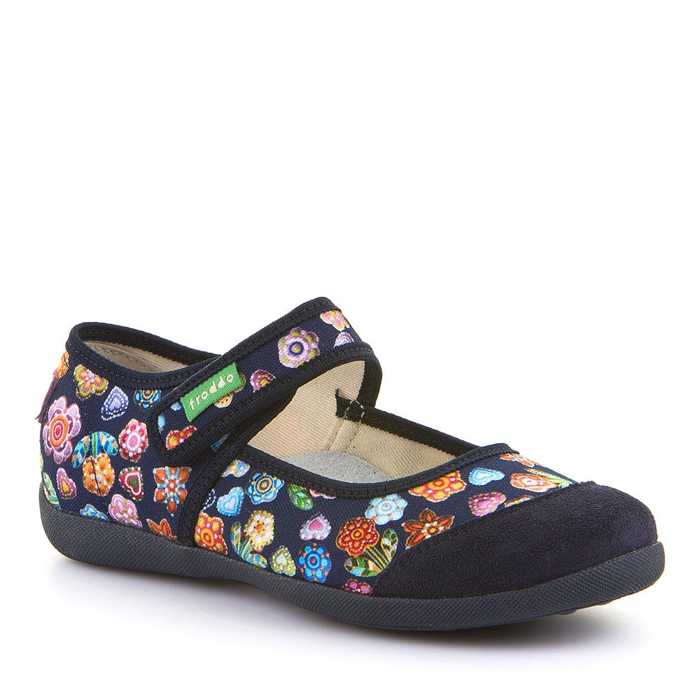 Personalizirane papuče balerinke cvjetnog uzorka za djevojčice picture