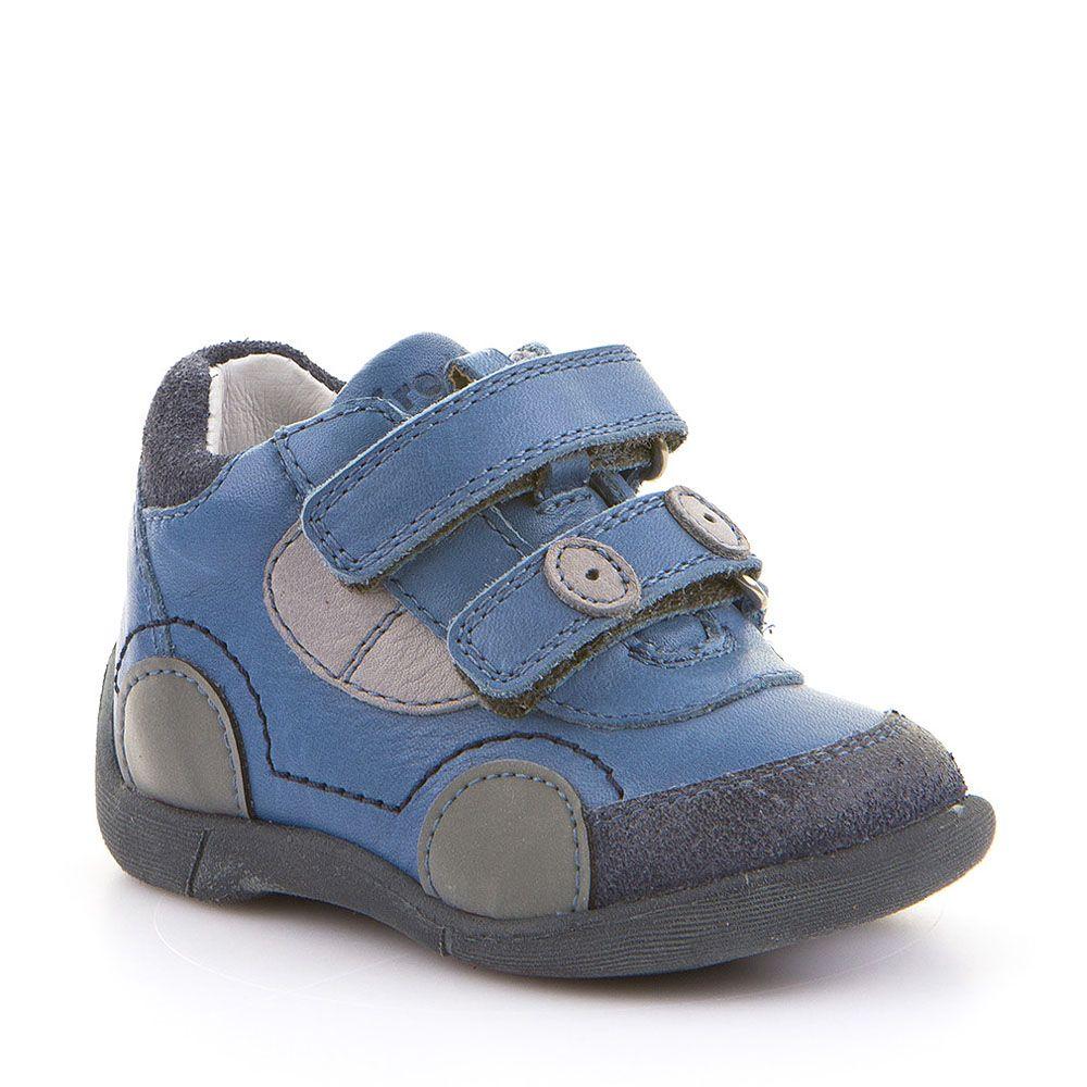 Froddo cipele za prvi korak za dječake s reflektirajućim detaljima u traper plavoj boji picture