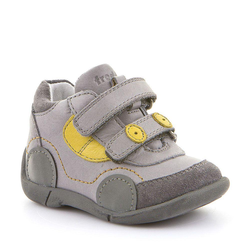 Froddo cipele za prvi korak za dječake s reflektirajućim detaljima u sivoj boji picture