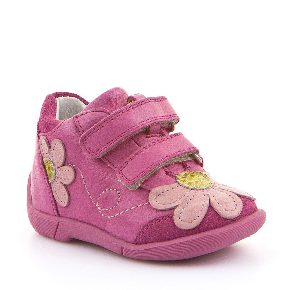 Froddo cipele za prvi korak za djevojčice u rozoj fuksija boji picture