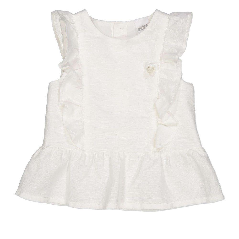 Baby bluza u bijeloj boji za djevojčice picture