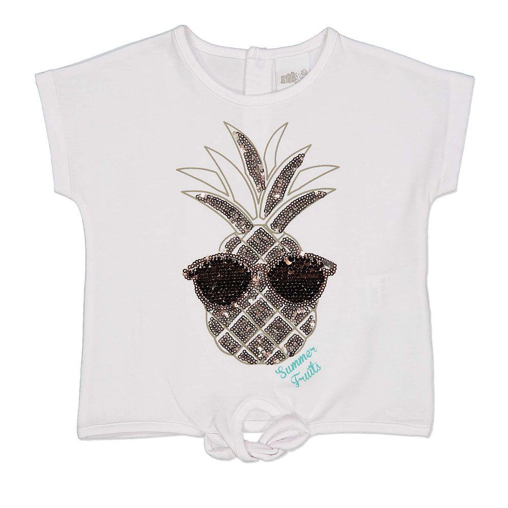 Baby pamučna majica s printom ananasa picture