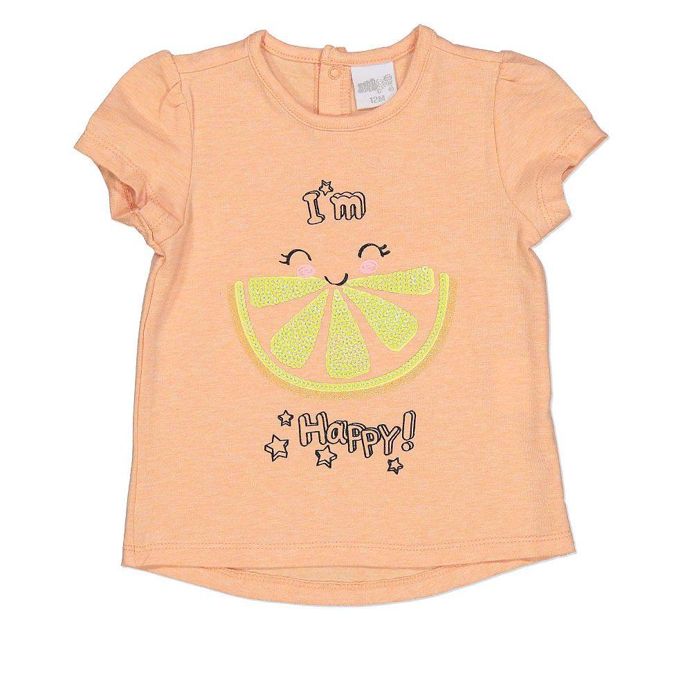 Baby udobna pamučna majica sa happy natpisom picture