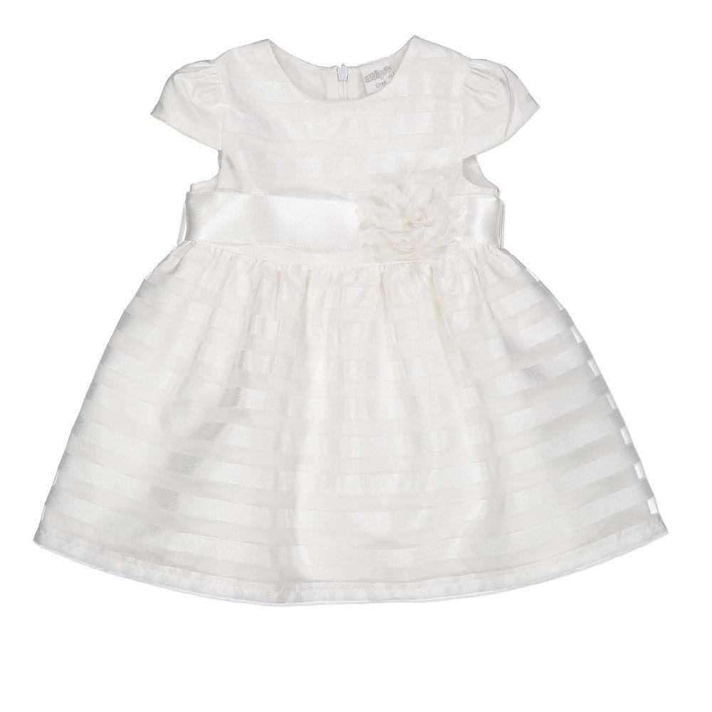 Elegantna baby haljina bijele boje picture