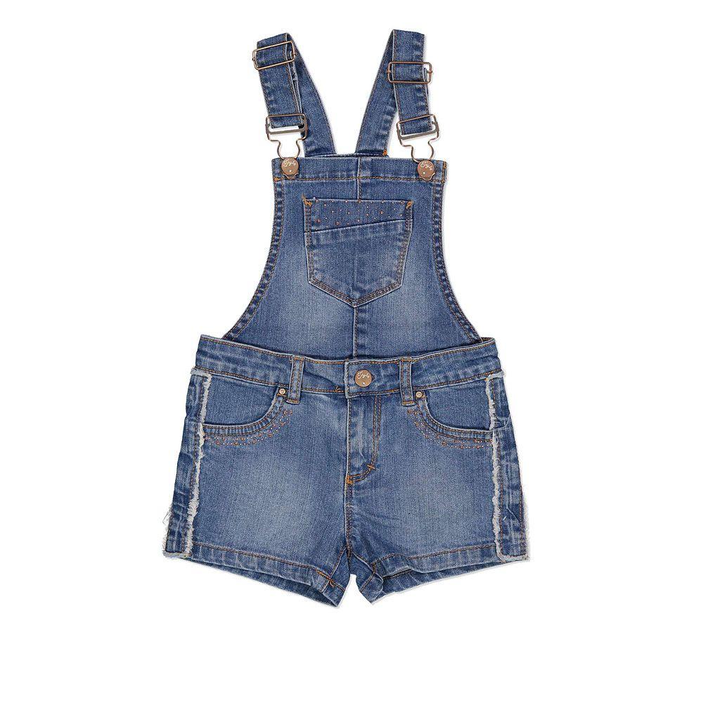 Kratke rastezljive dječje traper hlače sa zatvaračem picture