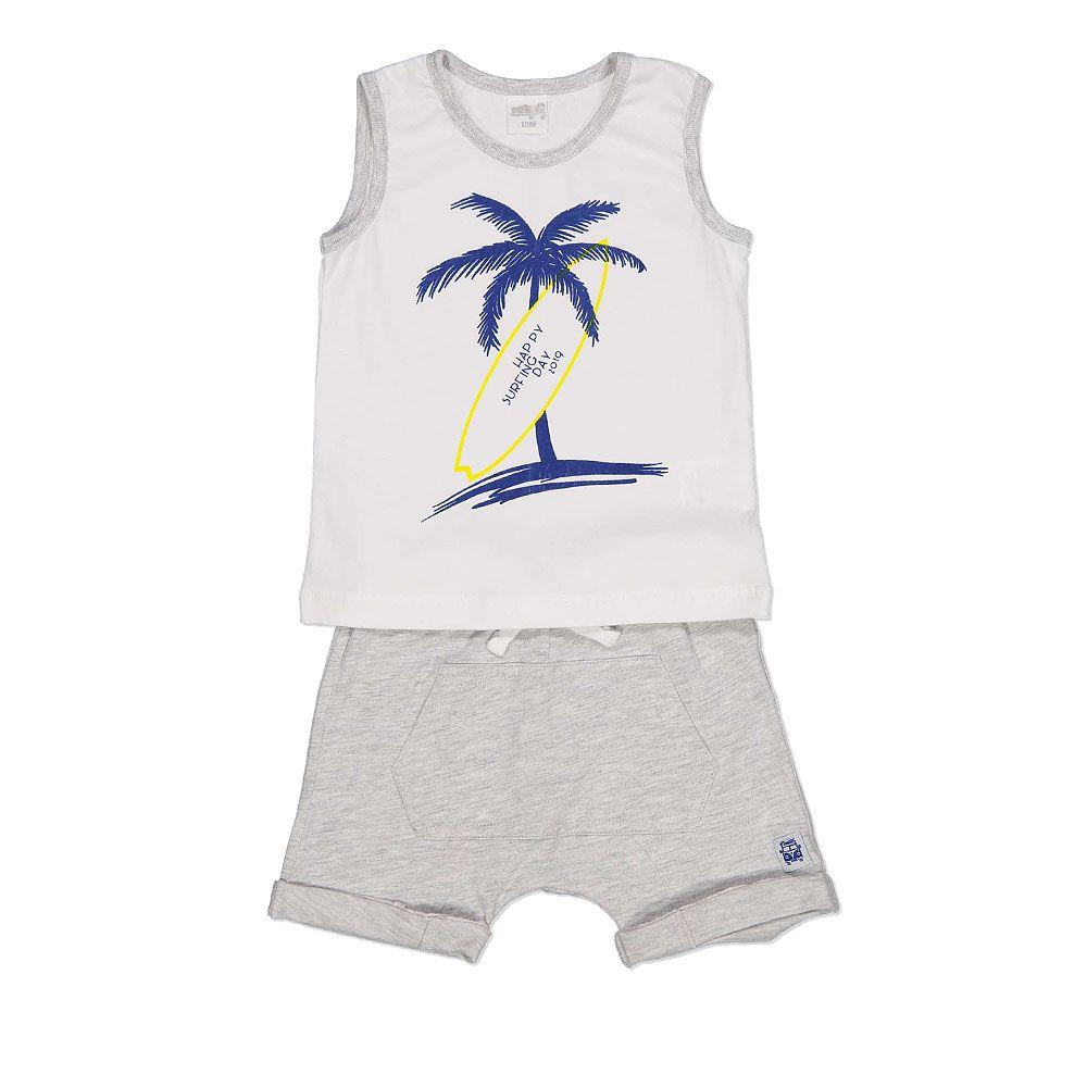 Ljetni baby komplet kratke hlače i majica bez rukava picture
