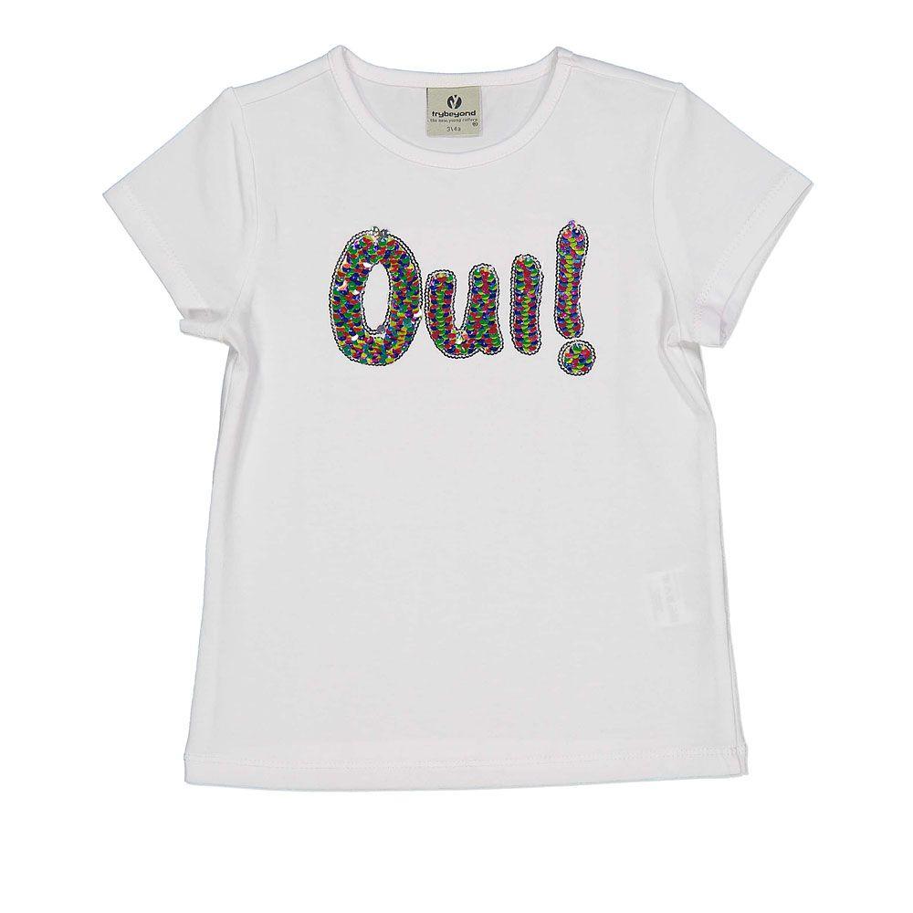Pamučna majica za djevojčice s printom picture