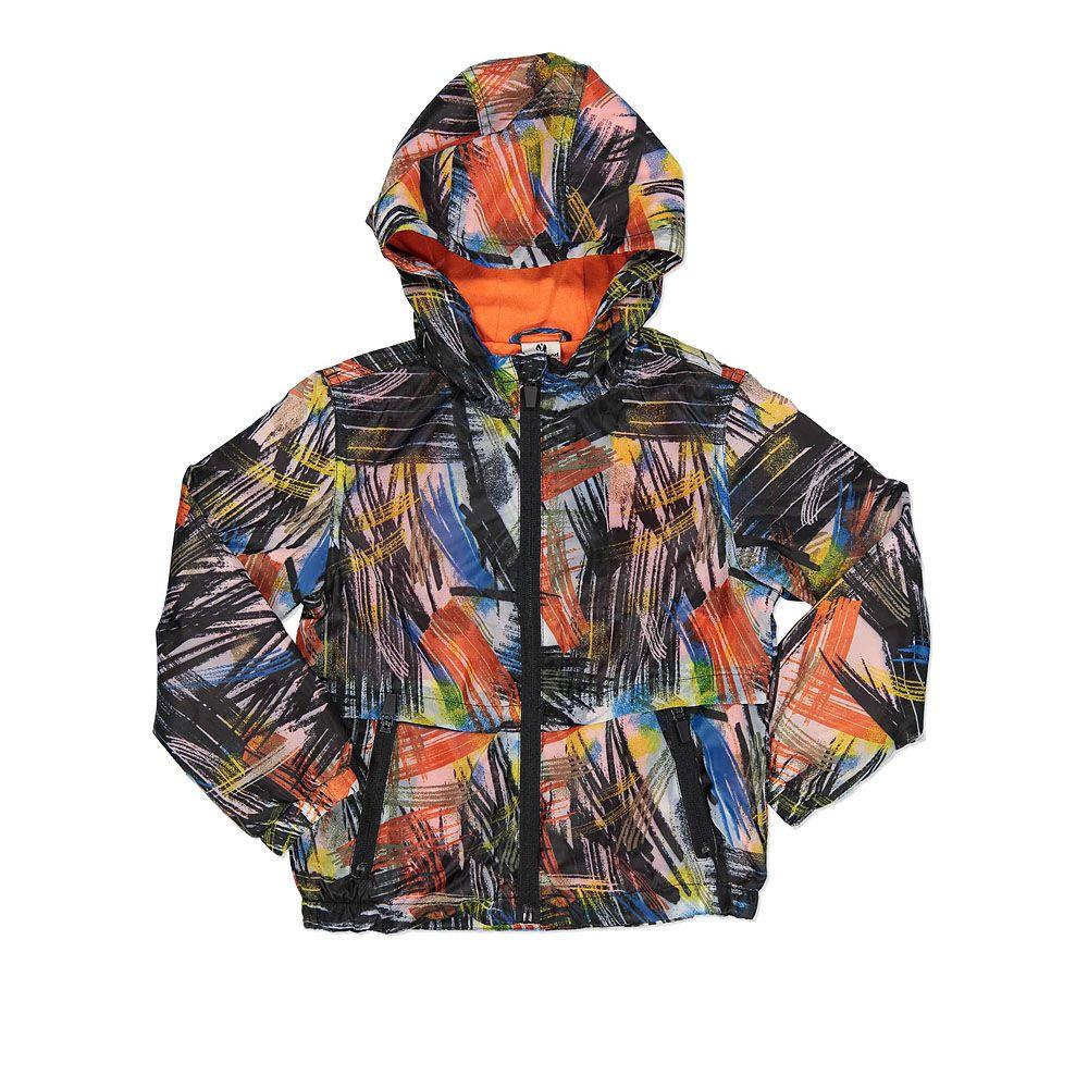 Šarena dječja jakna s patentnim zatvaračem picture