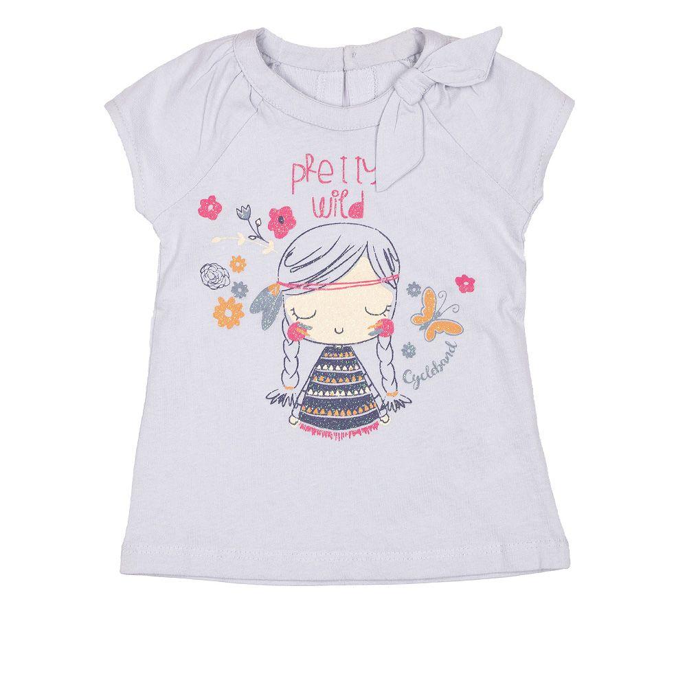CycleBand majica kratkih rukava s mašnom za djevojčice picture