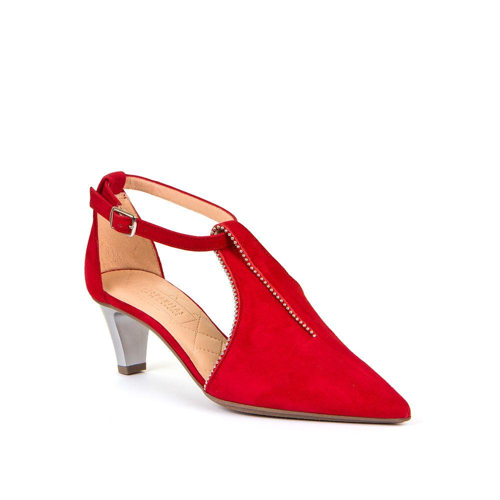 Ženske Hispanitas cipele na špicu u crvenoj boji picture