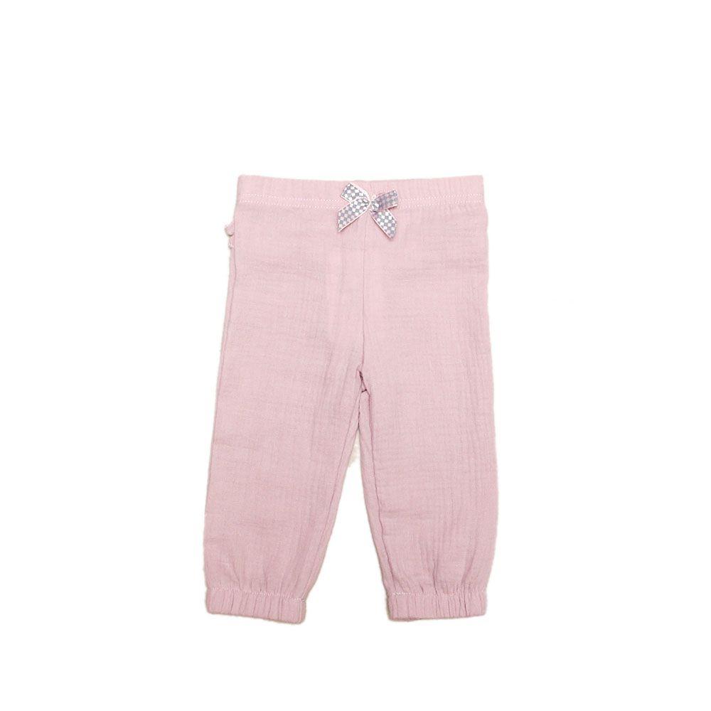 Baby hlače u rozoj boji picture