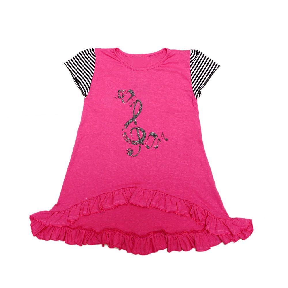 Tunika za djevojčice u rozoj boji picture
