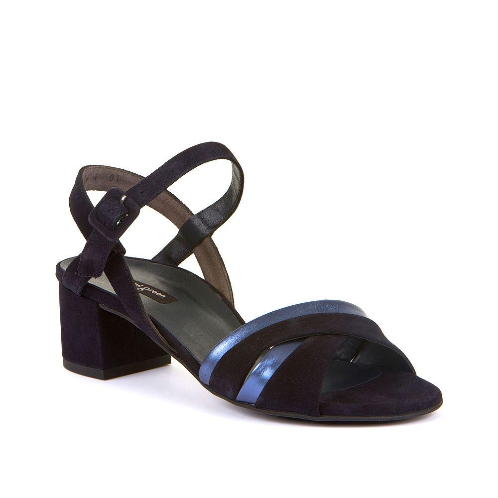Ženske sandale s metalik detaljima Paul Green picture