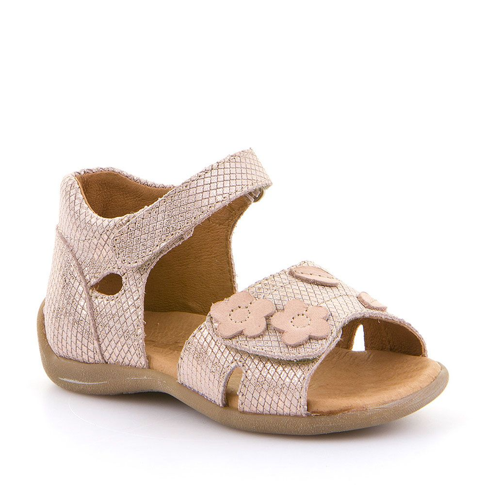 Dječje sandale Froddo sa cvjetnim detaljima picture