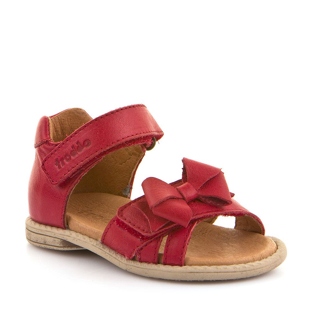 Sandale za djevojčice Froddo s ukrasnom mašnicom picture