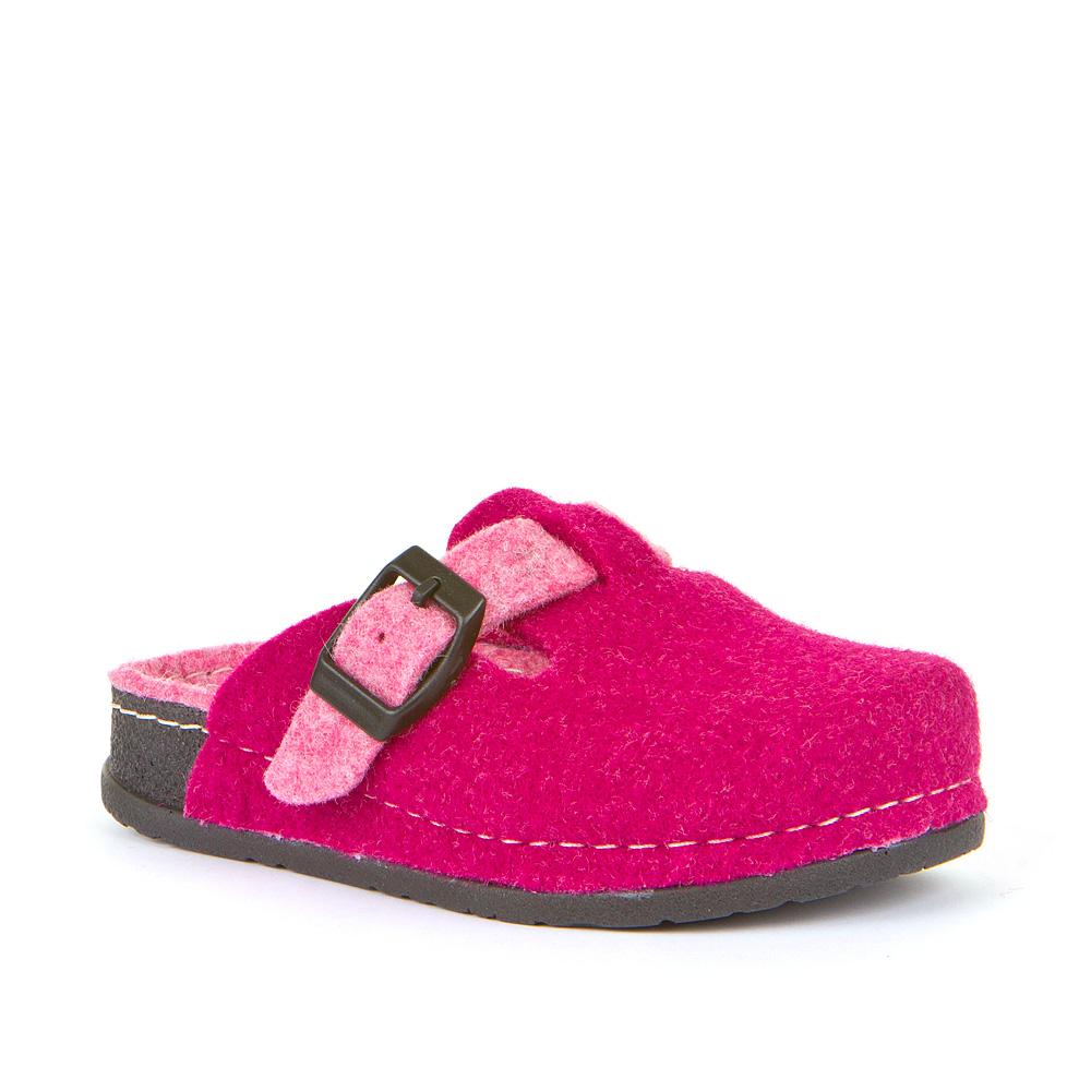 Dječje papuče od filca za djevojčice picture