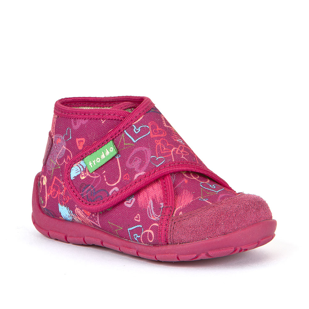 Personalizirane papuče za djevojčice s motivom srca picture