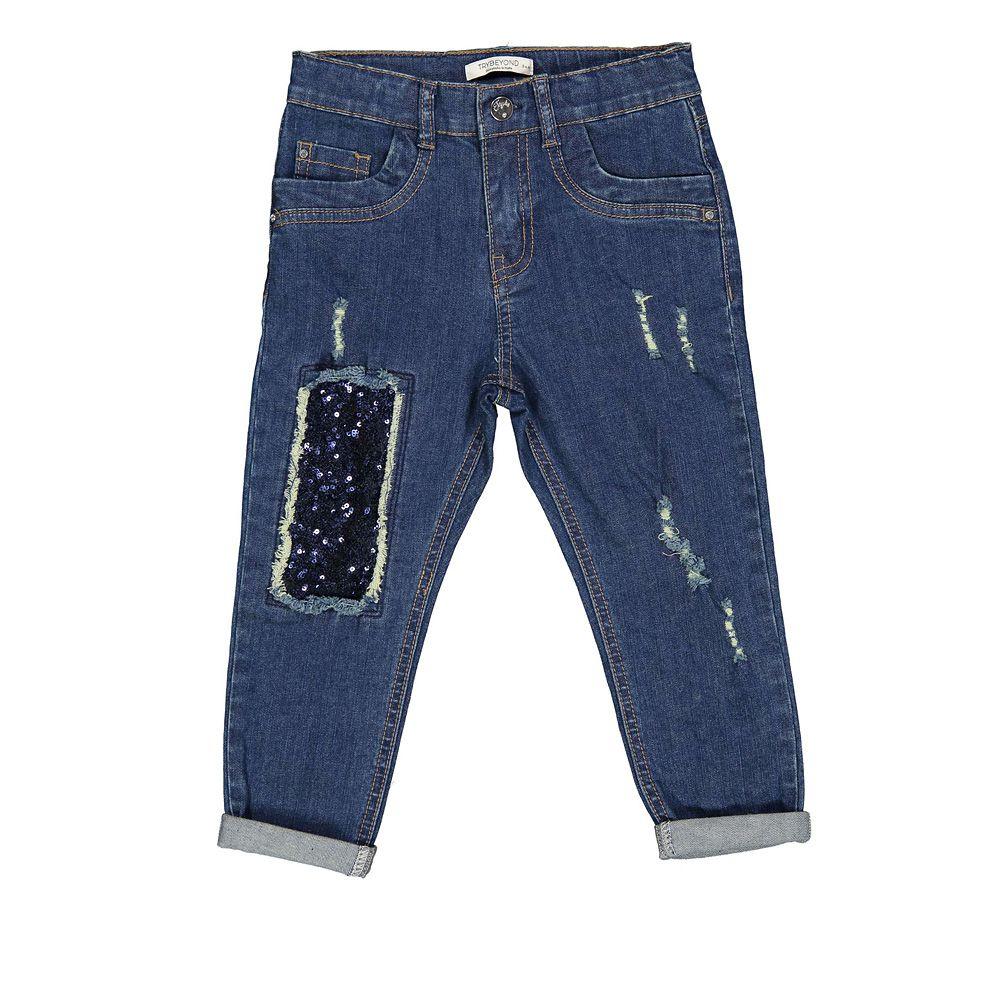 Dječje pamučne hlače picture