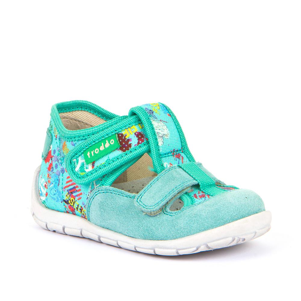 Personalizirane papuče za djevojčice s dva čičak remenčića picture