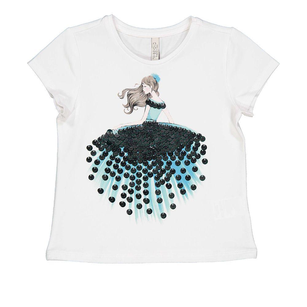 Pamučna majica za djevojčice picture