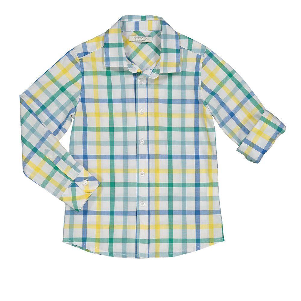 Karirana košulja za dječake picture