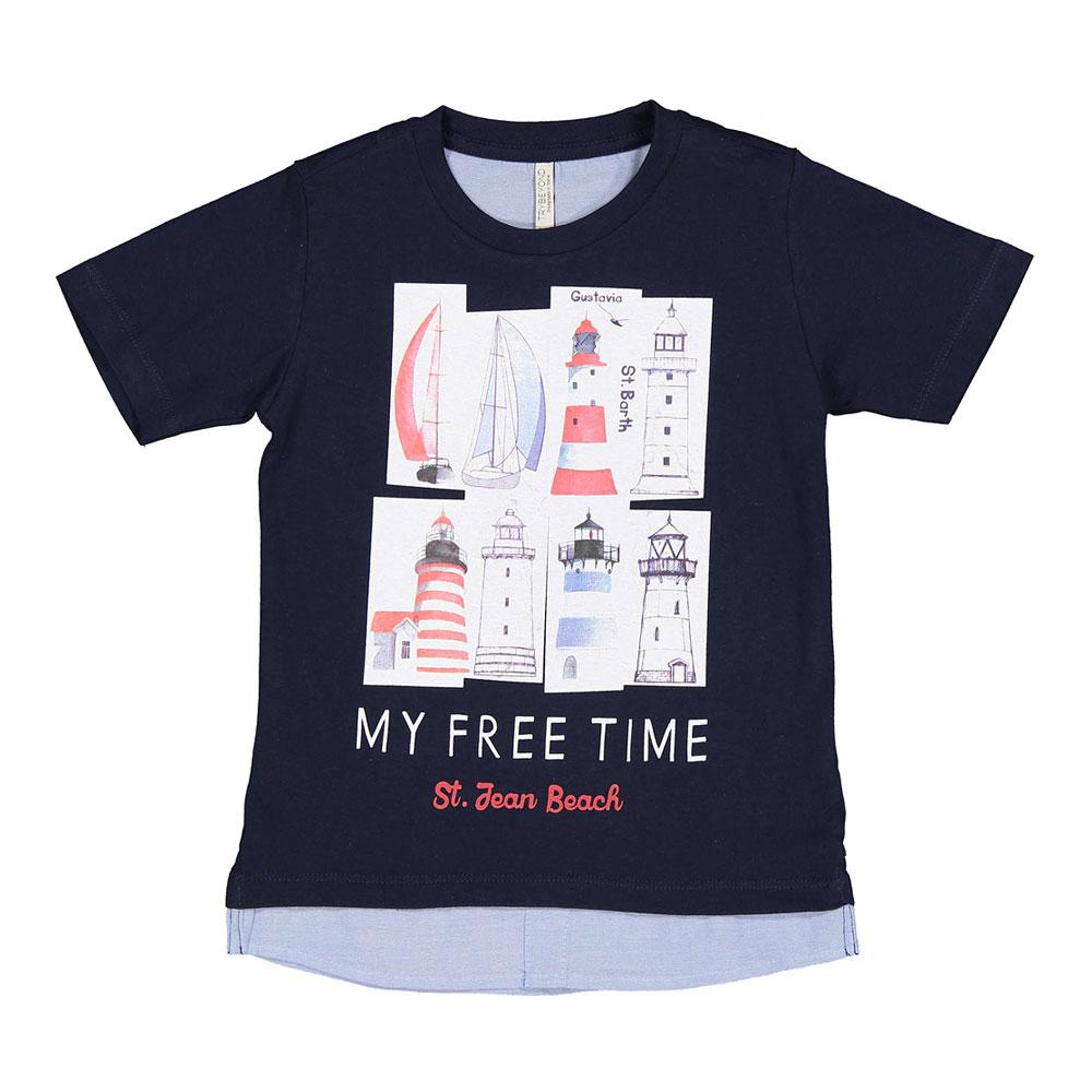 Dječja majica za dječake s printom picture
