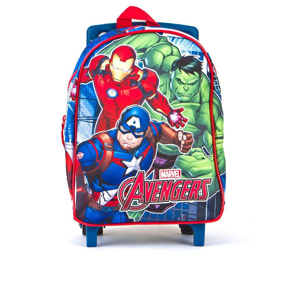 Dječji Avengers ruksak s LED svjetlom i kotačićima picture