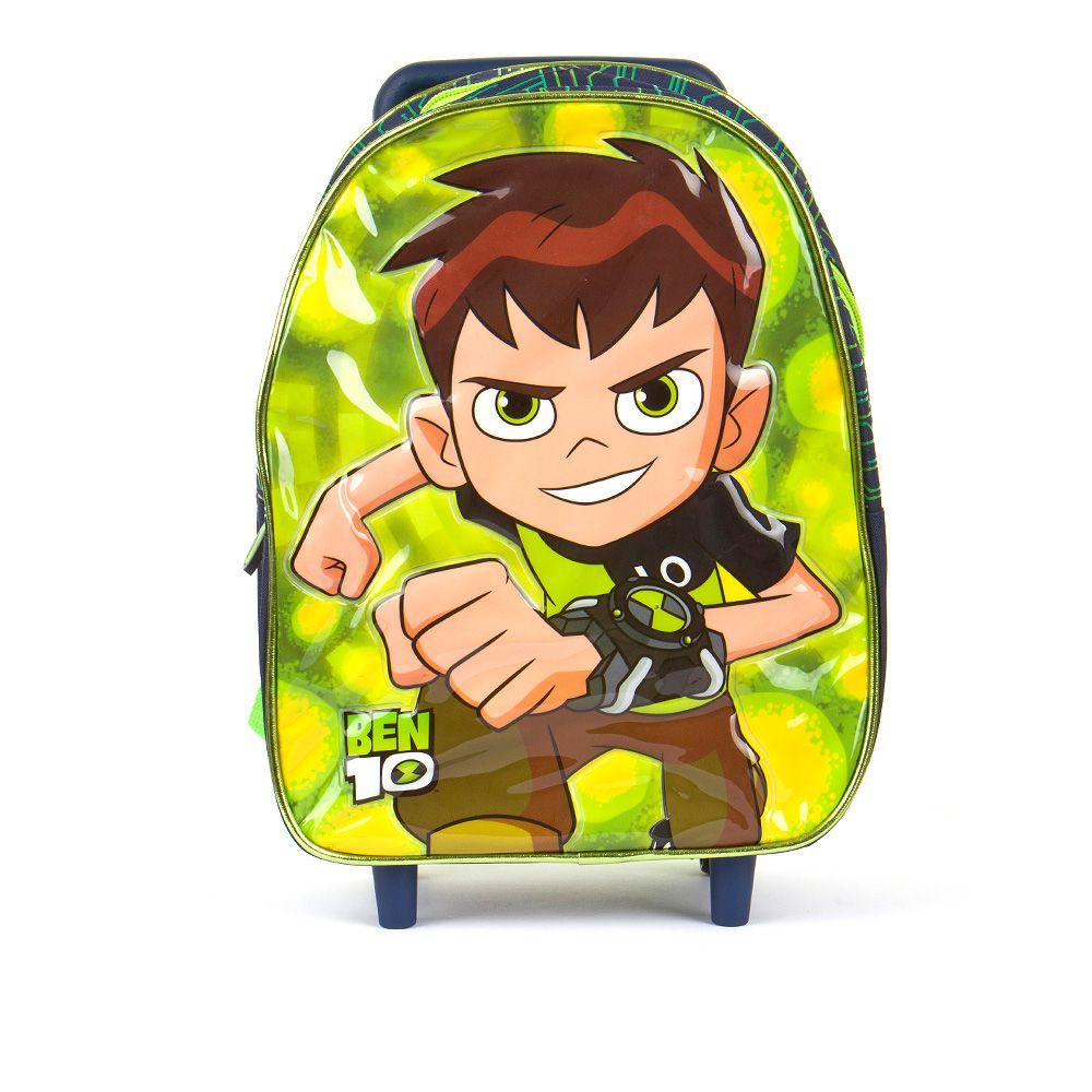 Dječji Ben10 ruksak s kotačima i LED svjetlom picture