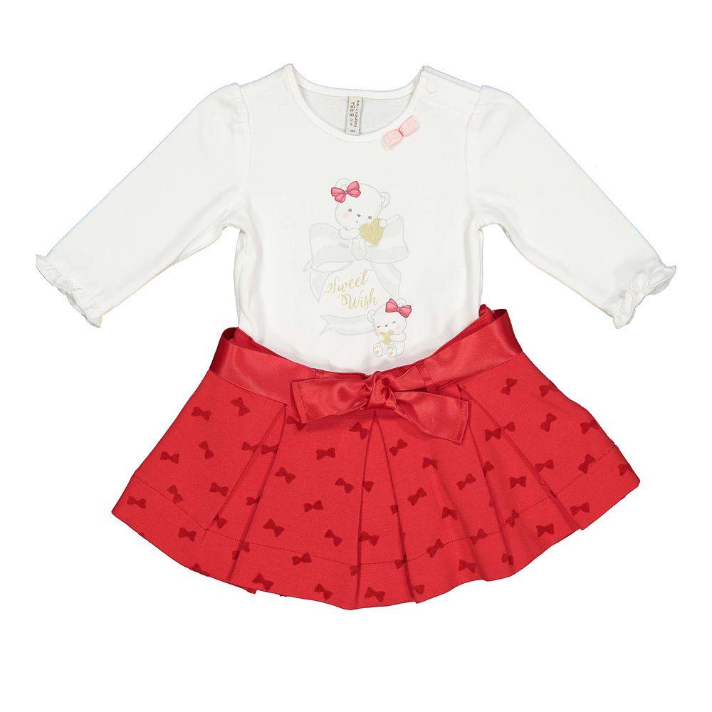 Baby komplet suknja i majica picture