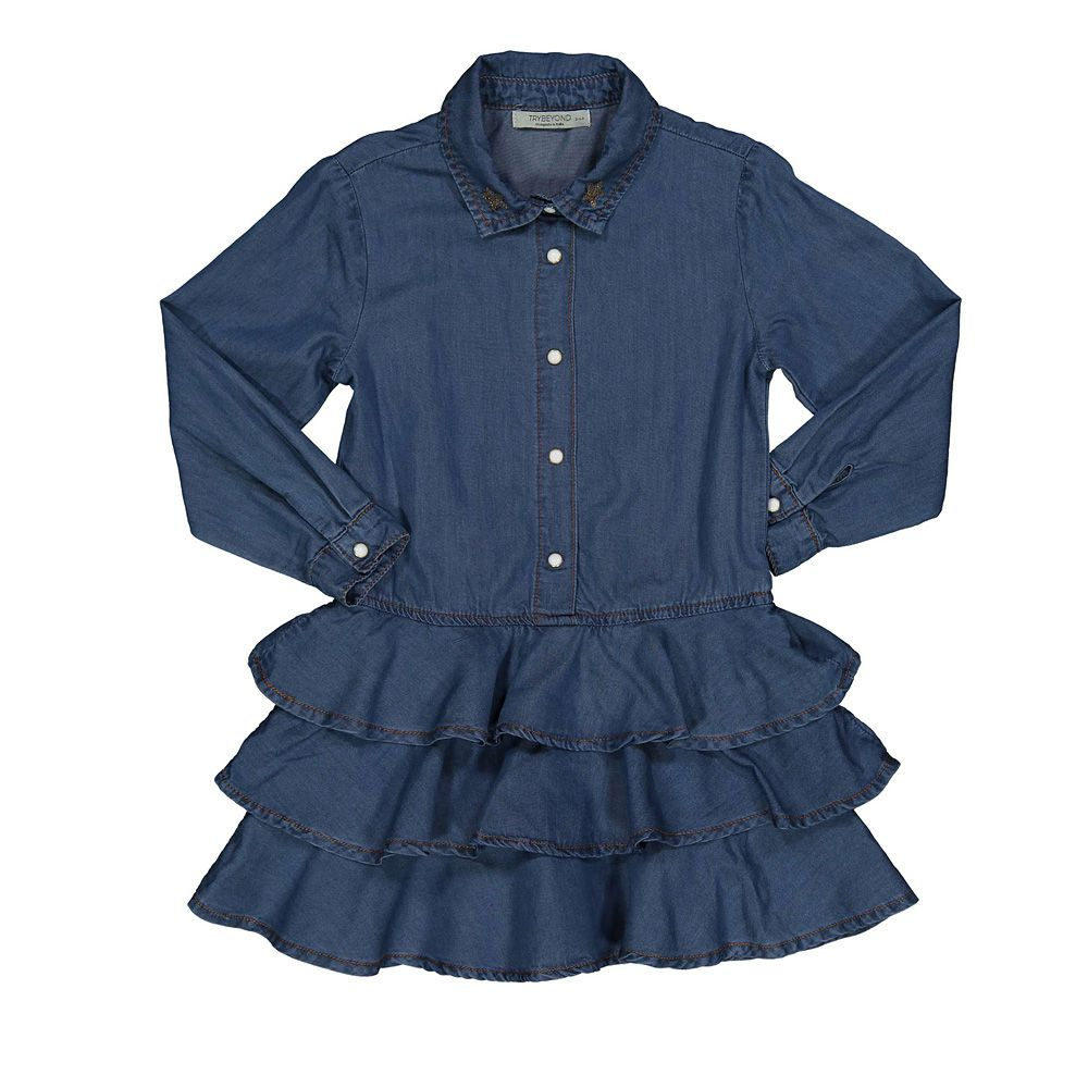 Dječja traper haljina picture