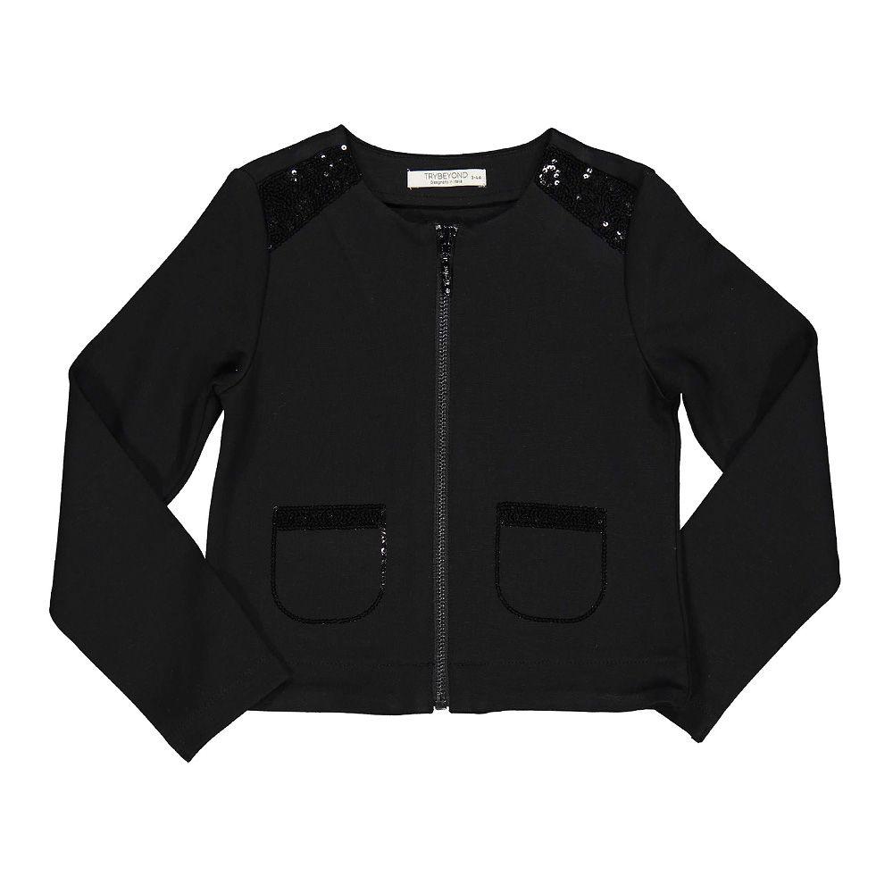 Dječja crna jakna picture