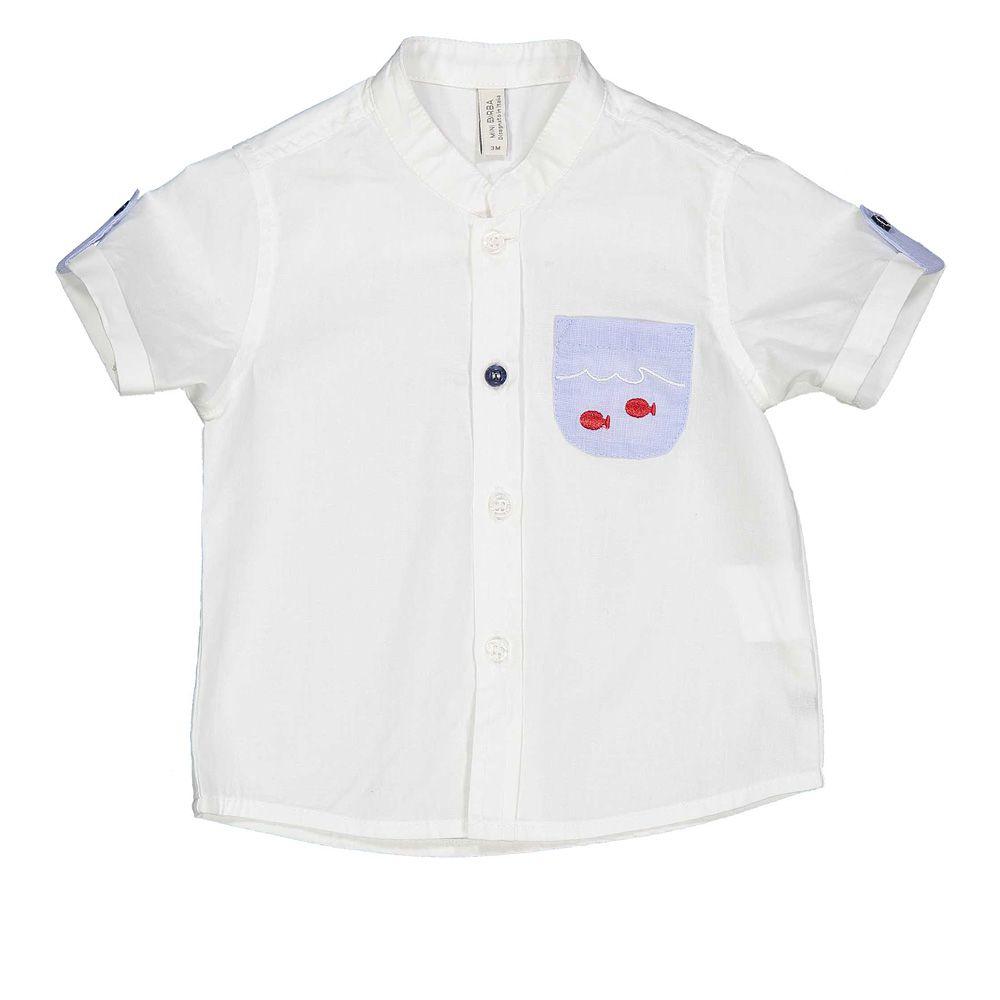 Baby svečana košulja bijele boje za dečka picture