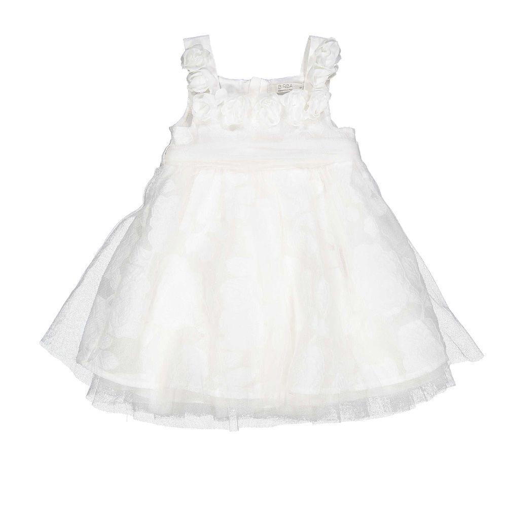 Baby bijela svečana haljina picture