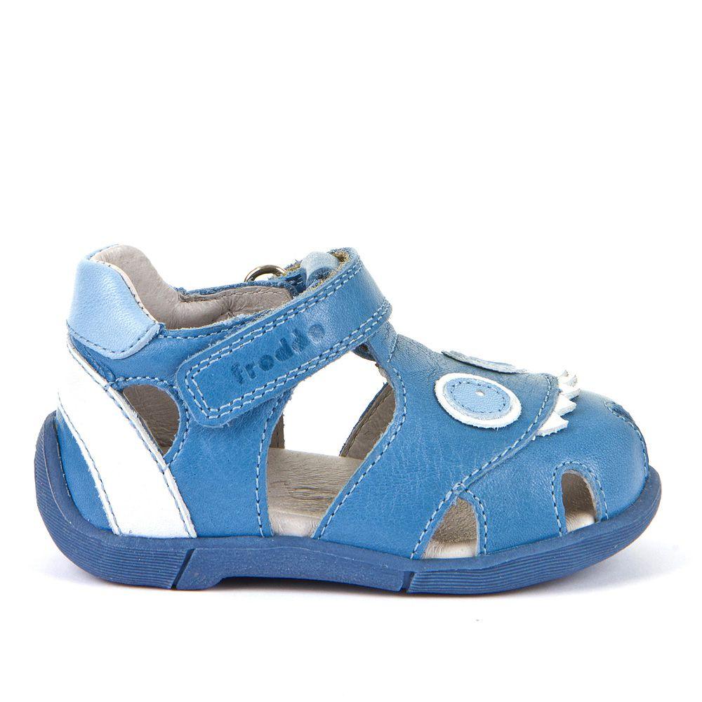 Zatvorene sandale za dječake s 3D ukrasima picture