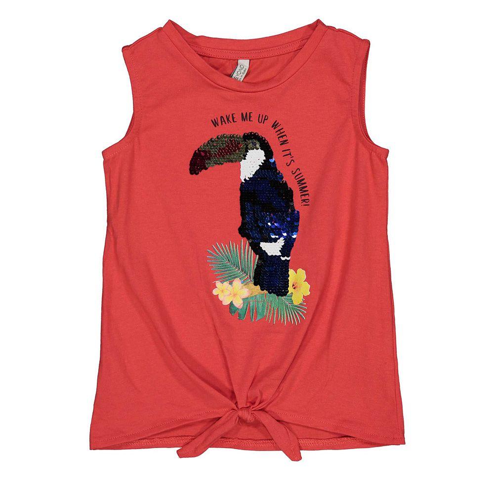 Majica za djevojčice bez rukava picture
