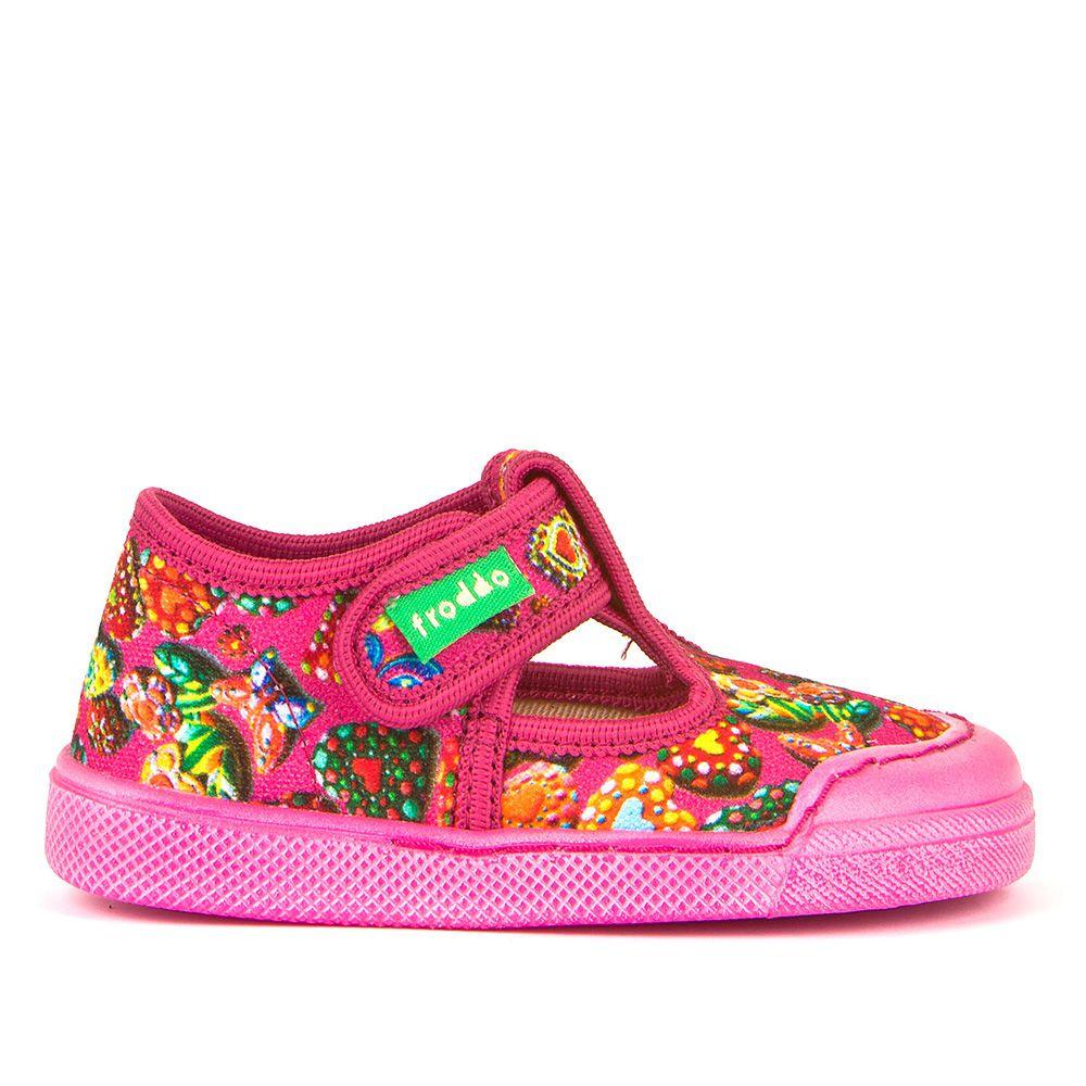 Dječje papuče s uzrokom za djevojčice picture