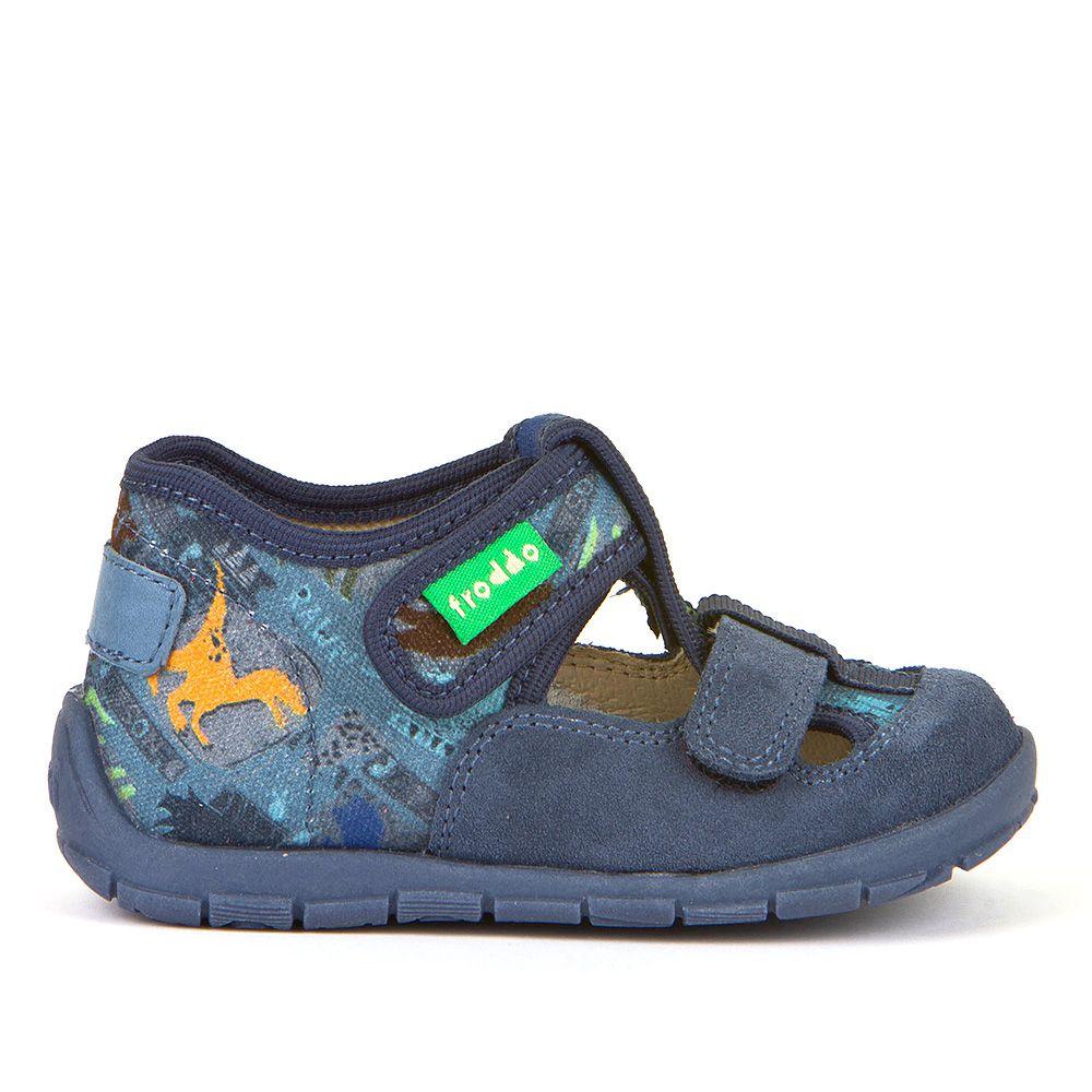 Personalizirane papuče za dječake s dva čičak remenčića picture