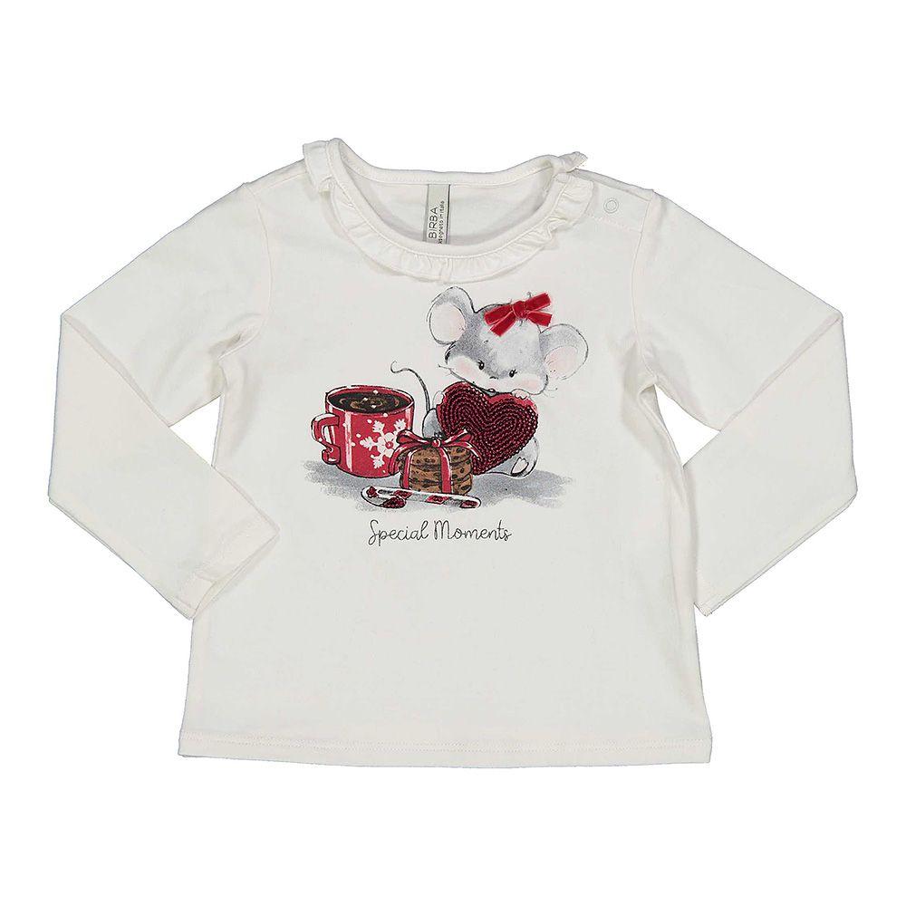 Baby majica za djevojčice s printom picture